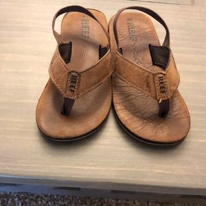 Toddler size 7/8 reef sandals